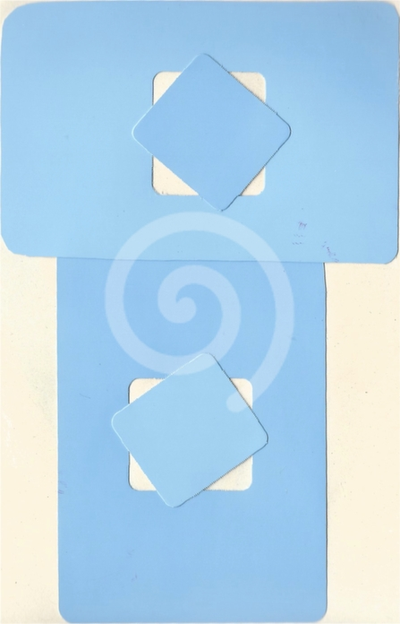 Light blue on light blue (2003)